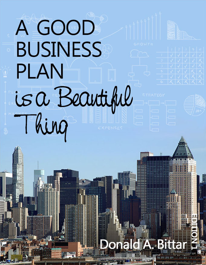 A Good Business Plan is a Beautiful Thing - textbook cover