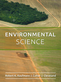 Environmental Science 2017 - textbook cover